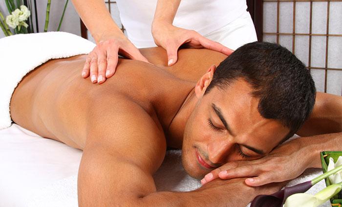 Sportska masaža tijela – muškarci